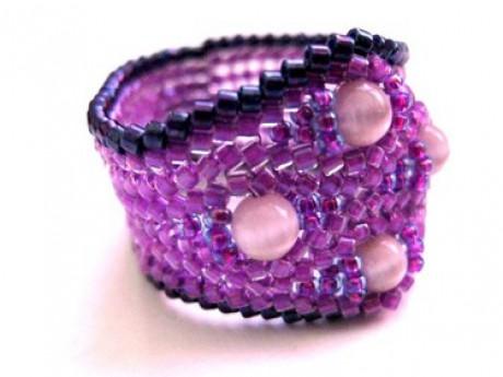 Korálok nausnice z koralku navod návod na náhrdelník z korálků